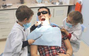 Disfraz de dentista