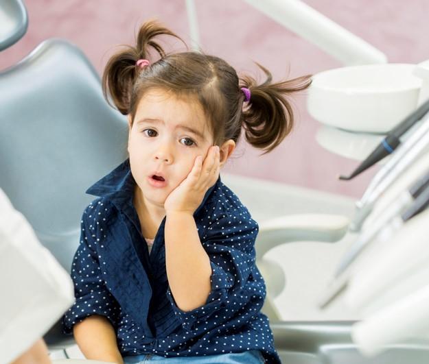 Como evitar la sensibilidad dental en niños.