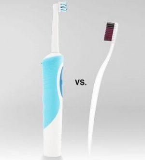 ¿Qué cepillos de dientes son mejores? Manual vs. Eléctrico